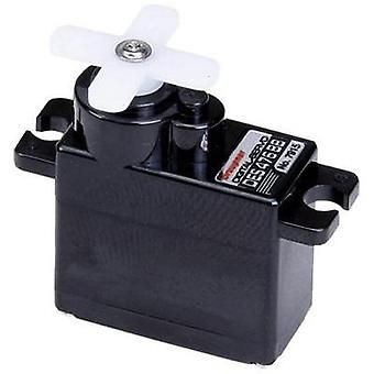 Graupner Mini servo Digital servo Gear box material: Carbon Connector system: JR