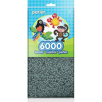 Mini Perler Beads 6 000/Pkg-gris PBM80-11-11087