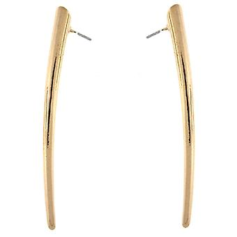 Kenneth Jay Lane Spike plaqué or boucles d'oreilles