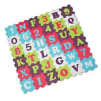 Ludi Foam carpet pieces letters and numbers