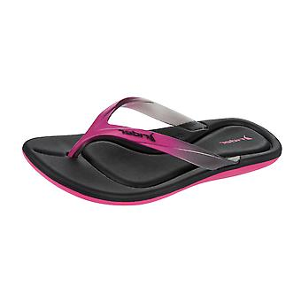 Rider Smoothie II Womens Flip Flops / Sandals - Black