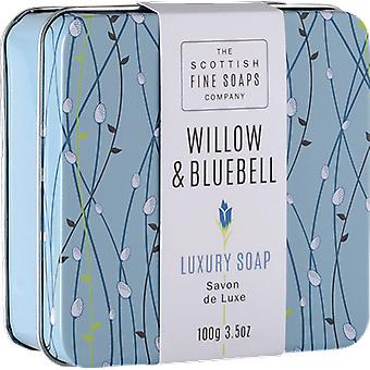 Scottish Fine Soaps Willow & Bluebell Soap in a Tin