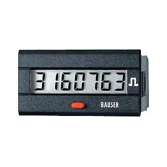 Bauser 3810.3.1.7.0.2 Digital timer or pulse counter - new! Twin solution Assembly dimensions 45 x 22 mm