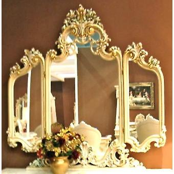 baroque mirror for make-up table oder chest of drawers sleeping room antique style Vp7715-01AC