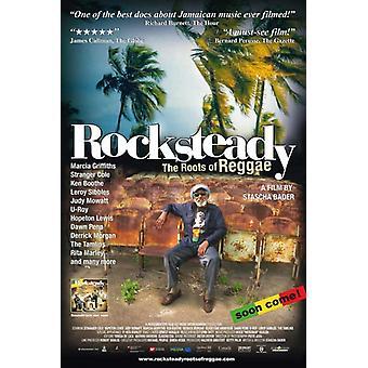 Rocksteady le radici del Reggae Movie Poster stampa (27 x 40)