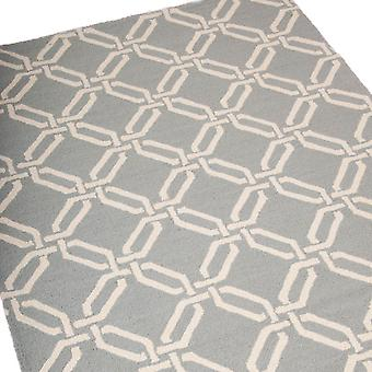 Linear Rugs Lin08 In Light Blue
