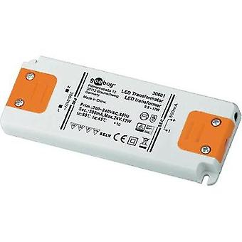 LED driver Constant current Goobay SET CC 500-12 LED 12 W (max)