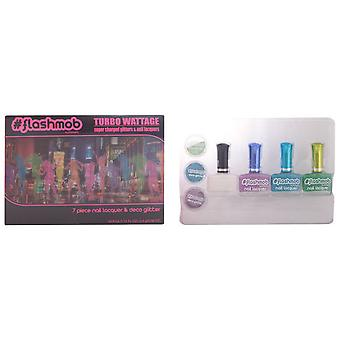Flashmob Turbo Wattage (Woman , Makeup , Nails , Nail polish)