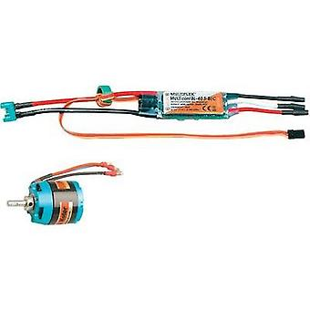 Model aircraft brushless motor Multiplex 332660 Compatible with: Multiplex Solius