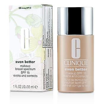 Clinique Even Better Makeup SPF15 (Dry Combination to Combination Oily) - No. 06/ CN58 Honey - 30ml/1oz