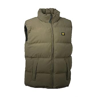 Caterpillar C430 Men Quilted Insulated Vest Body Warmer Polyester Quilted Lining