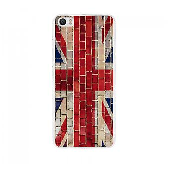 Cover Uk flag bricks to Xiaomi Mi5