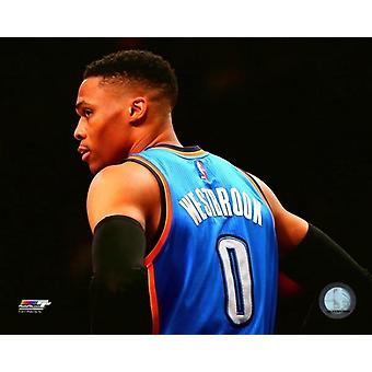 Russell Westbrook 2016 / 17 Aktion Fotodruck