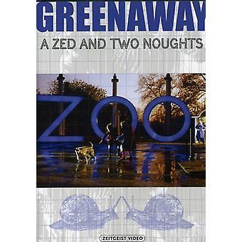 Zed & to nuller [DVD] USA importerer