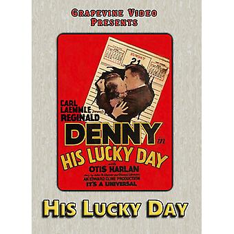 His Lucky Day (1929) [DVD] USA import