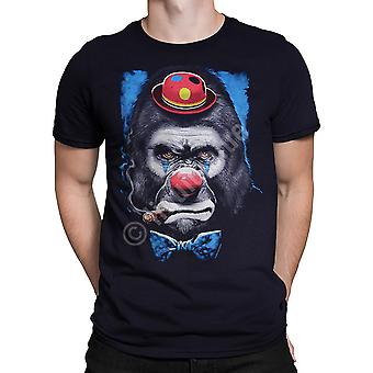 Liquid Blue - GORILLA CLOWN - Short Sleeve T-Shirt - Black