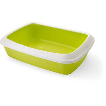 Savic Isis Bowl 42 Green with Frame (Cats , Grooming & Wellbeing , Litter Trays)