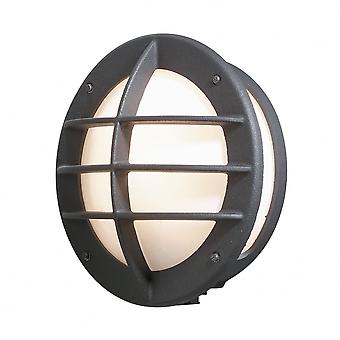 Konstsmide Oden Matt Black Wall Light