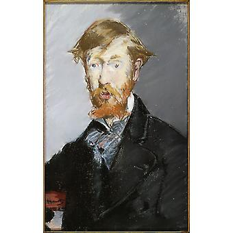 Edouard Manet - Georges Moore Poster Print Giclee