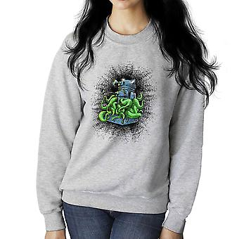 Doctor Who Dalek Tentacles Women's Sweatshirt