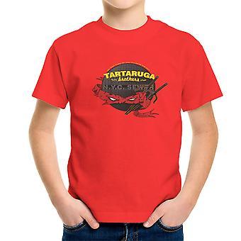 Tartaruga brødre Teenage Mutant Ninja Skildpadder Raphael børne T-Shirt