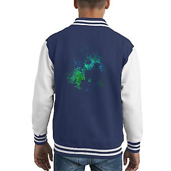 Shadow Of Colossus Forbidden Land Giant Kid's Varsity Jacket