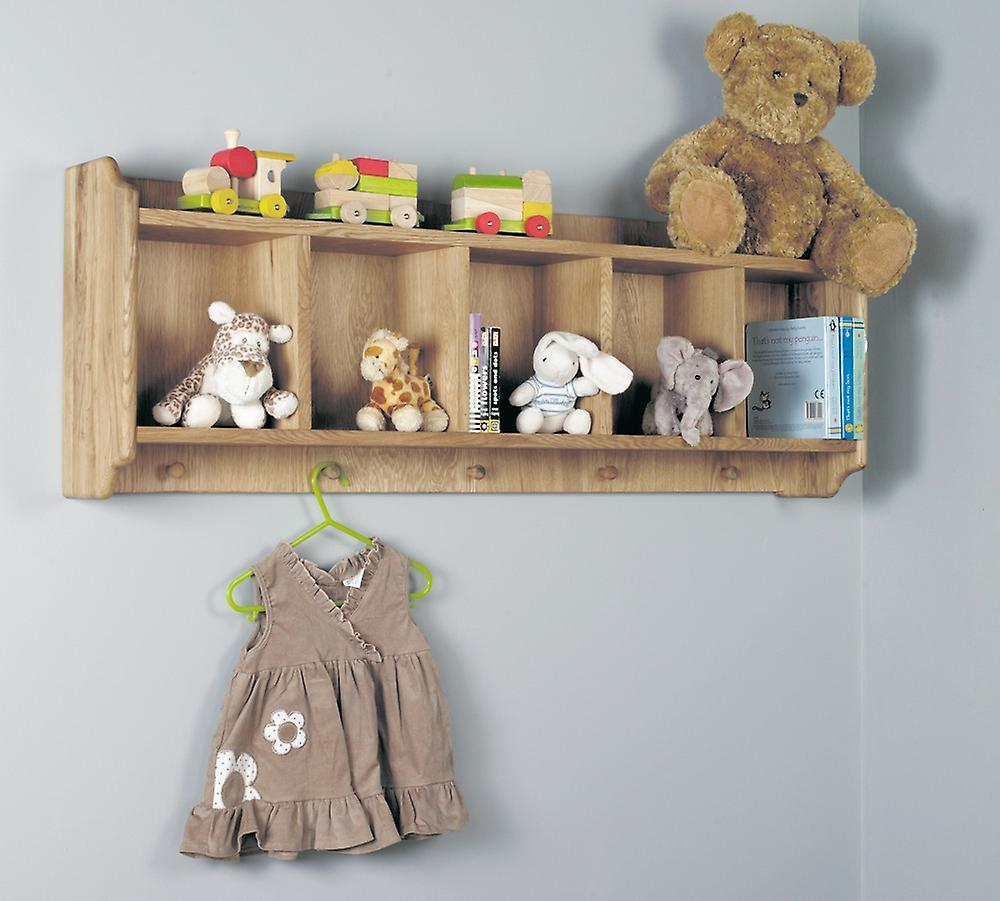 With PegsBaumhaus Amelie Wall Oak Shelf Hanging FTl1JKc