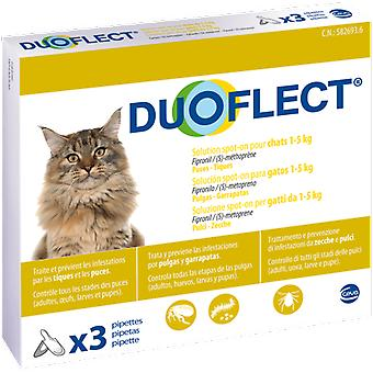 DuoFlect Cat 1-5 Kg 3 Pipettes