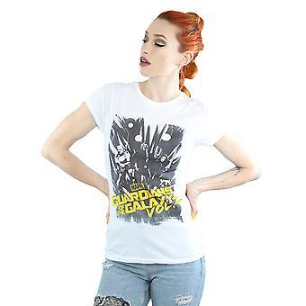 Marvel Women's Guardians Of The Galaxy Comic T-Shirt