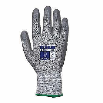 Portwest - Cut 3 resistente PU Palm Handschuh Pack 12