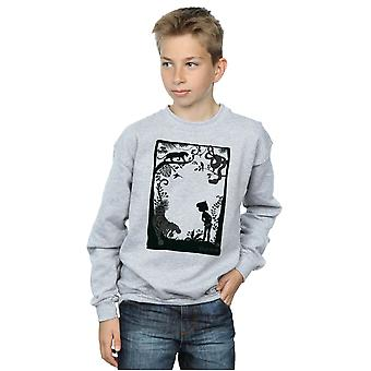 Disney Boys The Jungle Book Silhouette Poster Sweatshirt