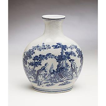 AA Importing 59831 Blue And White Vase