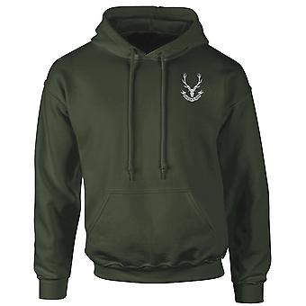 The Seaforth Highlanders Embroidered Logo - Official British Army Hoodie