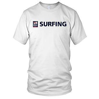 Royal Navy Surfing 1 Kids T Shirt