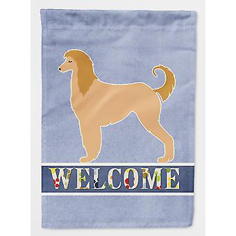 Carolines Treasures  BB5510GF Afghan Hound Welcome Flag Garden Size