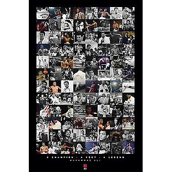 Muhammad Ali - Montage Poster Poster Print