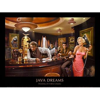 Java Dreams Poster Print by Chris Consani (32 x 24)