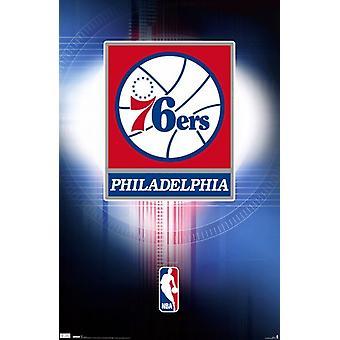 Philadelphia 76ers - Logo 10 Poster Poster Print