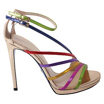 Loriblu 7EA59029AC multicolour ladies leather sandals
