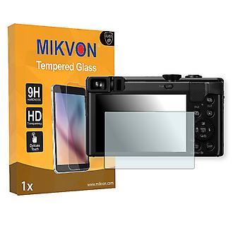 Panasonic Lumix DMC-TZ80 Screen Protector - Mikvon flexible Tempered Glass 9H (Retail Package with accessories)