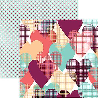 Forever Hearts Double-Sided Cardstock 12