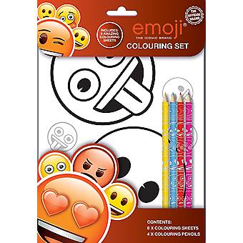 Emoji Colouring Set Kids Activity Pack