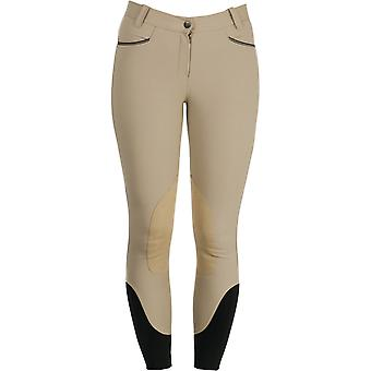 Horseware Ladies Woven Self Seat Womens Riding Breeches