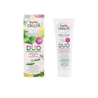 Byly Depil Duo Crema Depilatoria Menta Y Te Verde Ps 130ml Womens New