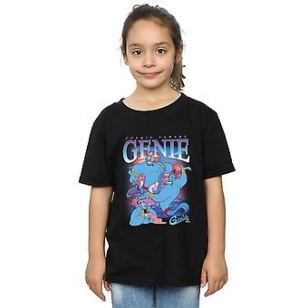 Disney Girls Aladdin Genie Montage T-Shirt