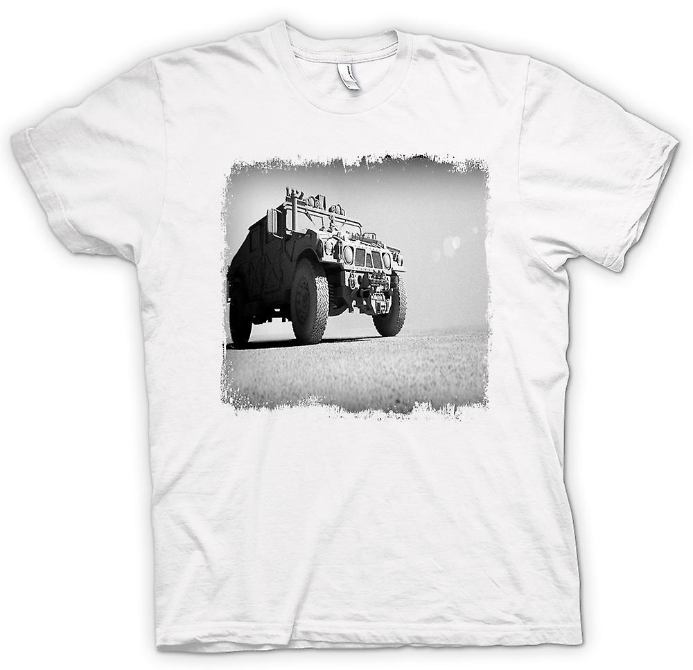 Womens T-shirt - Amerikaanse leger Humvee - Desert Warrior