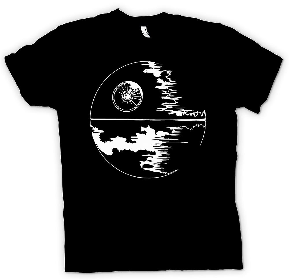 Kids T-shirt - Death Star Under Construction