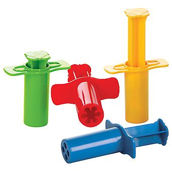Gowi Toys Modelling Shot (Set of 4) Dough Clay Syringes Kid's Toys