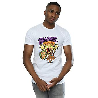 Scooby Doo Men's Pizza Ghost T-Shirt