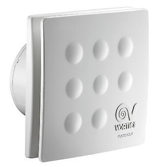 Bathroom fan small room fan Punto Four MFO 100 85m³/h